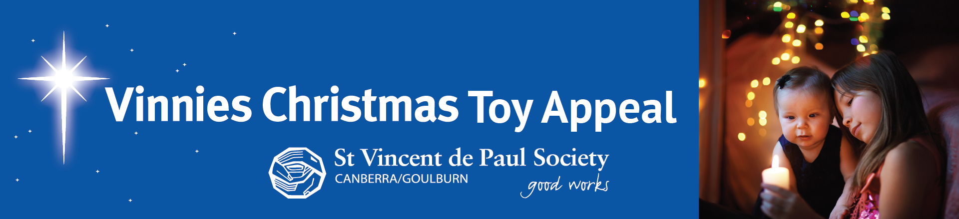 - Vinnies Christmas Gift Appeal - Canberra/Goulburn